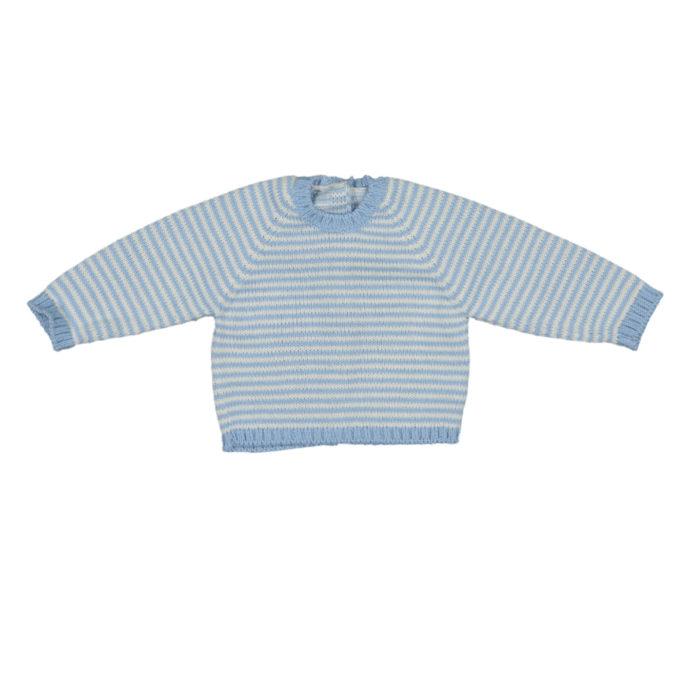 Camisa riscas azuis