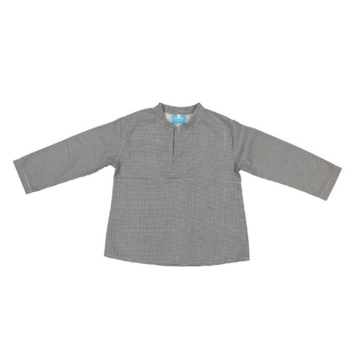 Camisa rapaz quadradinhos